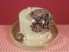 Bruidstaartje-kant-mintgroen-paars