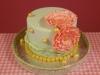 Bruidstaartje-kant-mintgroen-roze
