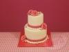Bruidstaartje-wit-roze
